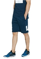 Adidas Mens Essential Lo Shorts FT - Navy/White