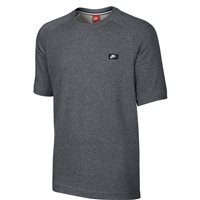 Nike Mens Modern Crew Short Sleeve Top -  Grey