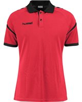 Hummel Authentic Charge Polo - True Red