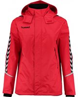 Hummel Authentic Charge All Weather Jacket - True Red/Black