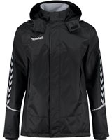 Hummel Authentic Charge All Weather Jacket - Youth -Black