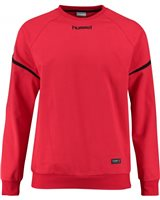 Hummel Authentic Charge Cotton Sweatshirt - Youth -True Red