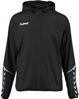 Hummel Authentic Charge Light Weight Windbreaker - Black