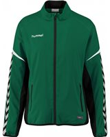 Hummel Authentic Charge Micro Zip Jacket - Youth -Evergreen