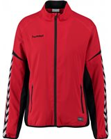 Hummel Authentic Charge Micro Zip Jacket - Youth -True Red