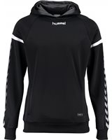 Hummel Authentic Charge Poly Hoodie - Black