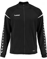 Hummel Authentic Charge Poly Zip Jacket - Youth -Black