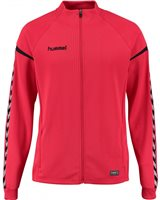 Hummel Authentic Charge Poly Zip Jacket - Youth -True Red