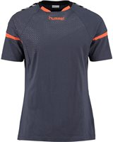 Hummel Authentic Charge Training Jersey - Youth -Ombre Blue/Nasturtium