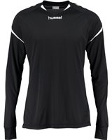 Hummel Authentic Charge Poly Jersey LS - Youth -Black