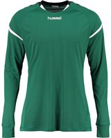 Hummel Authentic Charge Poly Jersey LS - Youth -Evergreen