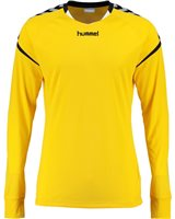 Hummel Authentic Charge Poly Jersey LS - Youth -Sports Yellow