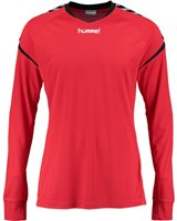 Hummel Authentic Charge Poly Jersey LS - Youth -True Red