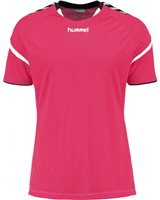 Hummel Authentic Charge Poly Jersey SS - Youth -Bright Rose