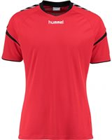 Hummel Authentic Charge Poly Jersey SS - Youth -True Red