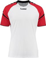 Hummel Authentic Charge Poly Jersey SS - Youth -White/True Red
