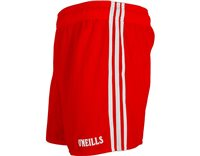 ONeills GAA Shorts - Red/White