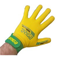 Briga Gaelic Glove - Gold/Green