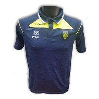 ONeills Donegal Aston Polo - Marine/Flo Yel/Silver