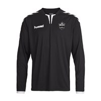 Hummel MKE Handball Core Long Sleeve Poly Jersey -  Black