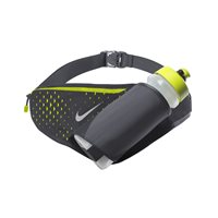 Nike Large Water Bottle with Belt - 22oz - Grey/Volt