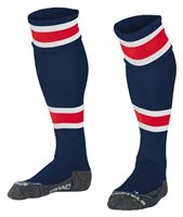 Stanno League Sock - Navy/Red/White