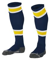 Stanno League Sock - Navy/Yellow/White