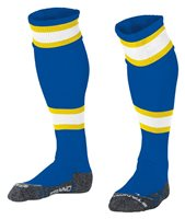Stanno League Sock - Royal/White/Yellow