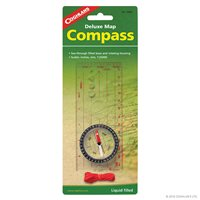 Coghlans Deluxe Map Compass - Clear