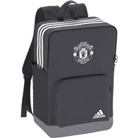 Adidas Manchester United Backpack - Grey/White