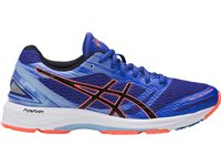 Asics Womens Gel DS Trainer 22 - Blue/Black/Coral