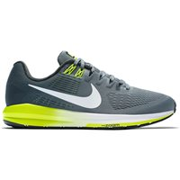 Nike Mens Air Zoom Structure 21 - Grey/White/Volt