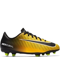 Nike Jr. Mercurial Vortex III FG Firm Ground Foo - Orange/Black-White-Volt