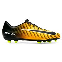 Nike Mercurial Vortex III FG Firm Ground Footbal - Orange/Black-White-Volt