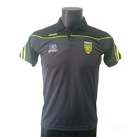 ONeills Donegal GAA 2017 Parnell Polo - Grey/Black/Flo.Yellow