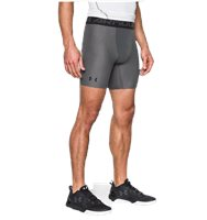 Under Armour Mens Heat Gear Armour 2.0 Compression Shor - Grey