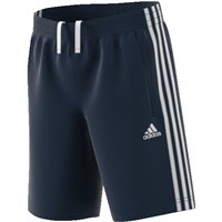 Adidas Boys 3S WV Shorts - Navy/White