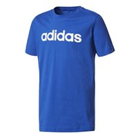 Adidas Boys Linear T-Shirt - Royal