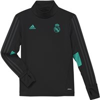 Adidas Real Madrid Training Top 17/18 Kids - Black