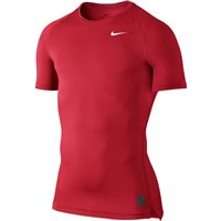 Nike Mens Pro Training S/S Top - Red