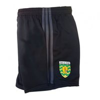 ONeills Donegal Toledo Poly Training Short - Black/Grey