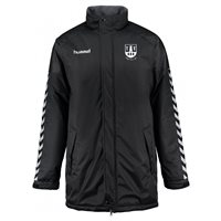 Athy Town AFC Athy Town AFC Authentic Charge Stadium Jacket - Black
