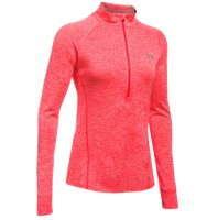 Under Armour Tech 1/2 Zip Top - Red Twist
