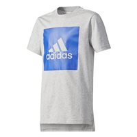 Adidas Kids Logo Tee 2 - Grey/Blue