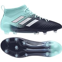 Adidas Ace 17.1 FG Primeknit Mesh Football Boots - Aqua/White/Legion Ink
