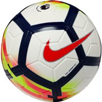 Nike Premier League Strike Football - White/Navy/Volt