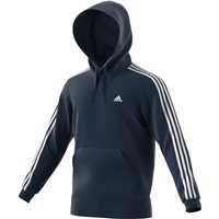 Adidas Mens Essential Pullover Hoodie - Navy/White