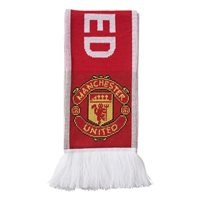 Adidas Manchester Utd Scarf - Red/White