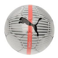 Puma ONE Chrome Football - Silver/White/Orange