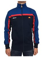 Ellesse Mens Fonda Track Top - Navy/Royal/Red